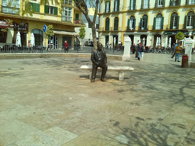 Picasso en Plaza de la Merced