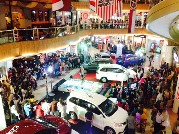 harga grand new avanza semarang all kijang innova q toyota veloz di nasmoco launching dan atrium mall ciputra