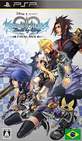 Kingdom Hearts Birth By Sleep Portugues