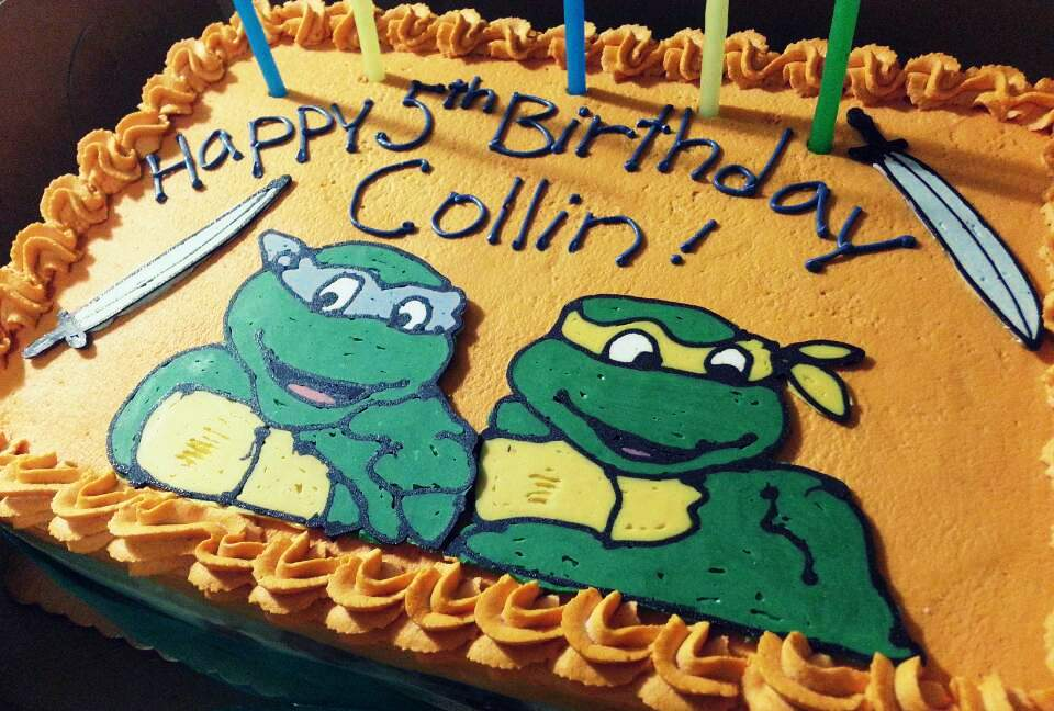 Here Are Collins Birthday Cakes Over The Years