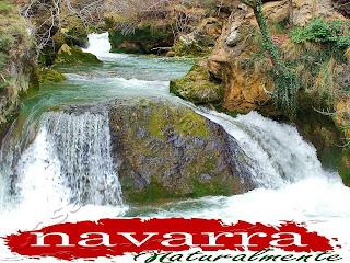 Nacedero del Urederra  La Cascada del Jabalí Ruta  de las Cascadas de Baquedano  www.nacederourederra.es