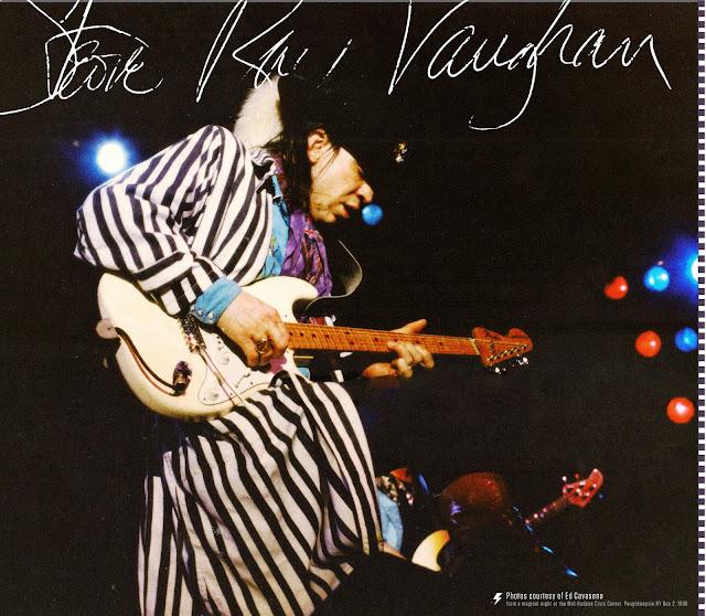 Profil Gitaris Stevie Ray Vaughan - Gitaris Berbakat Sepanjang Masa Yang Di Kenal Dunia