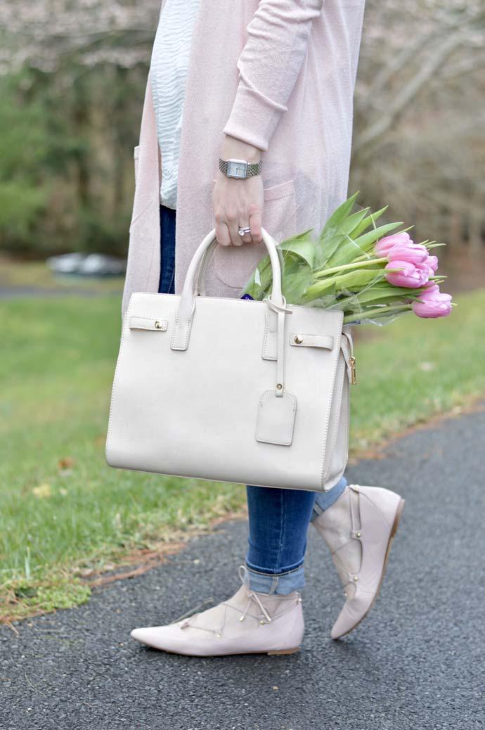 Sole Society Nude Satchel A Blonde's Moment