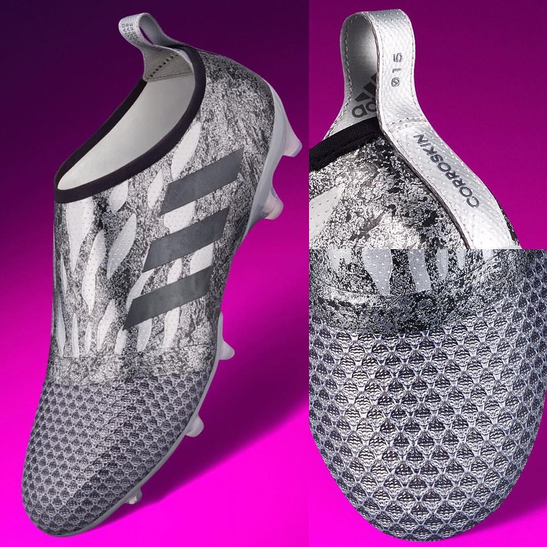 Des Adidas 2017 Footy Sortie Argentées Glitch Corrozone Chaussures HeDbWE9IY2