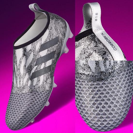 new concept a4d79 895a2 Adidas Glitch Corroskin - Silver Metallic