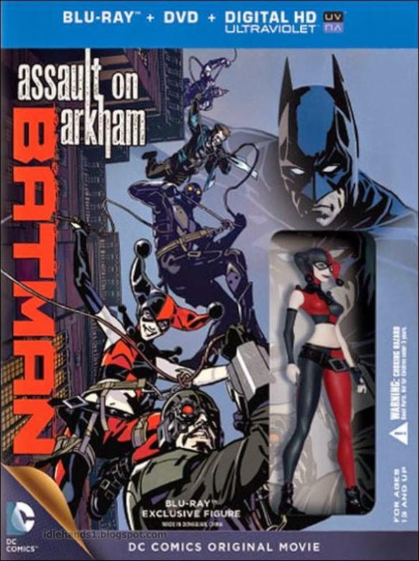 Poster do filme Batman: Ataque ao Arkham