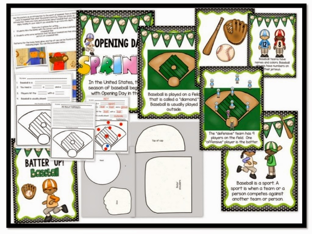 https://www.teacherspayteachers.com/Product/Batter-Up-Baseball-Craftivity-for-Little-Kids-1812634