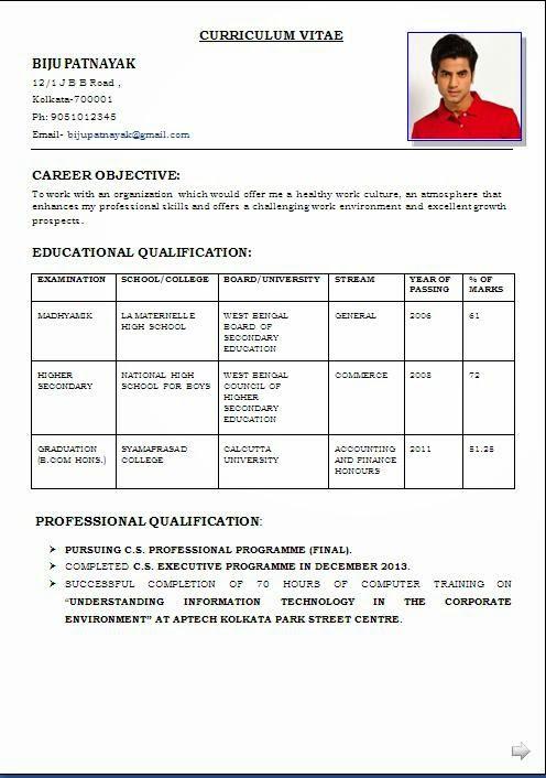 Sample Format Resume Callcenter Bpo Resume Template Sample Word