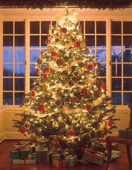 Cintas arbol navidad lo que no sabe del pesebre y del - Arbol de navidad dorado ...