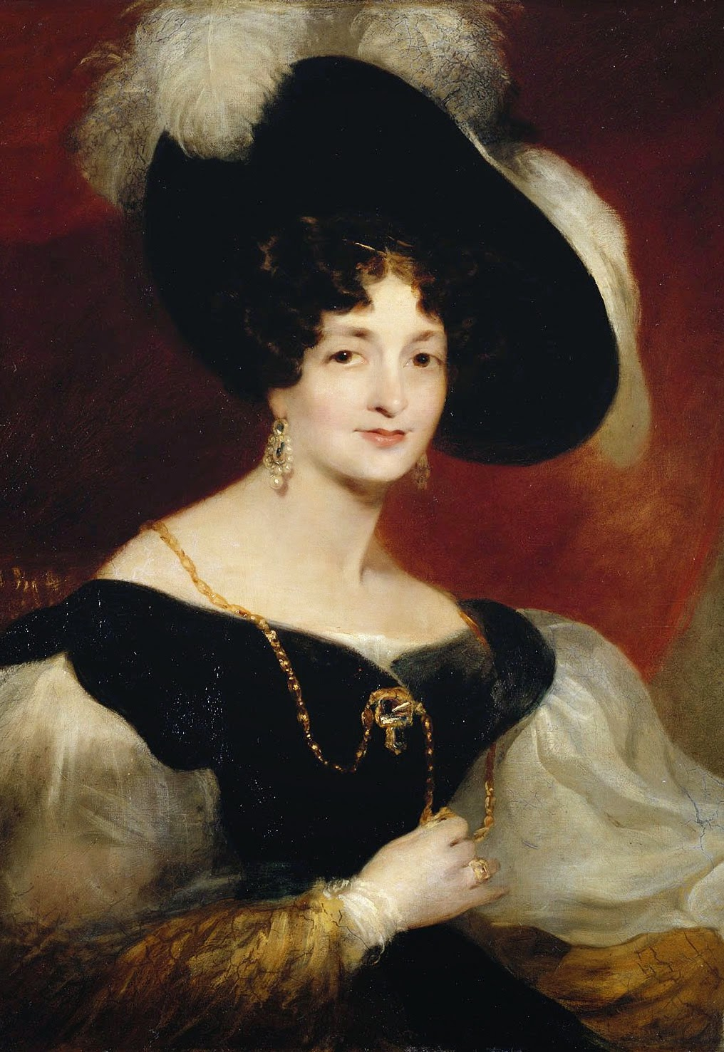 Victoria of Saxe-Coburg-Saalfeld, the sister of Prince Leopold, the mother of Queen Victoria