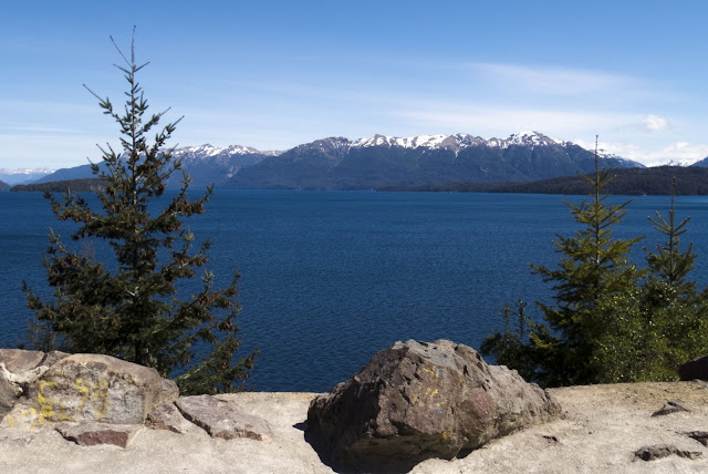 2 week Patagonia Itinerary: View on the Seven Lakes Drive near Bariloche Argentina