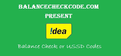 Idea Balance Check Codes for 2G/4G/3G Internet Balance/SMS/Voice/Main Balance 2017