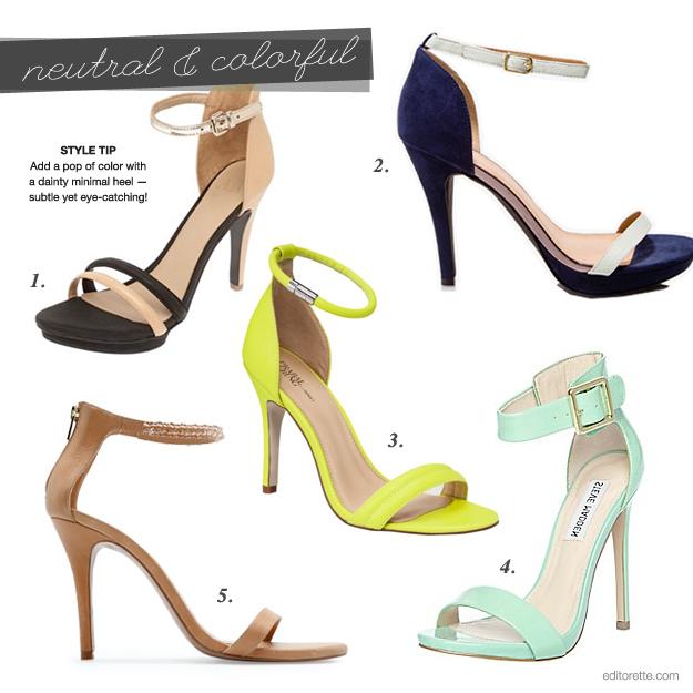 367ba78222f Armani Exchange Colorblock Heel ( 88) ...