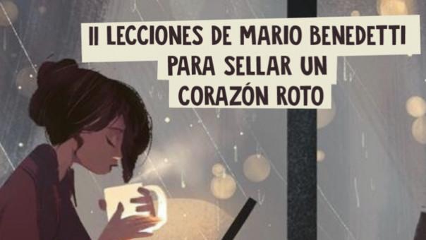 11 lecciones de Mario Benedetti para curar un corazón roto