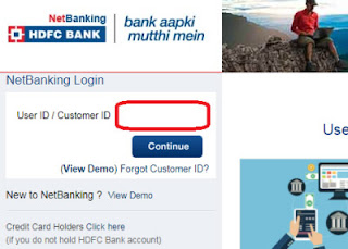 how to link aadhaar card with hdfc bank online