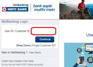how to link aadhaar card with hdfc bank online