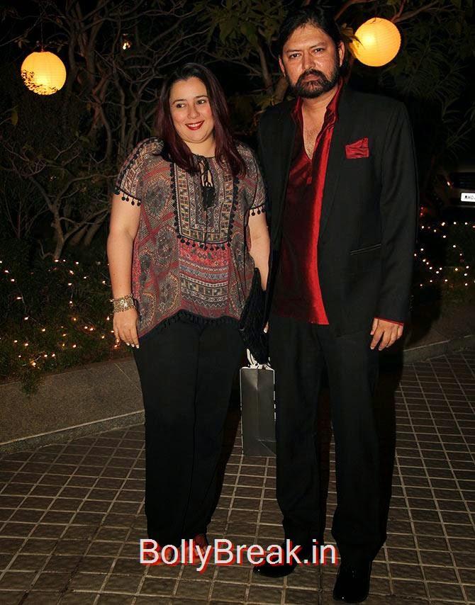 Shristi Arya and Sameer Arya, Bollywood Celebrities At Farah Khan's GRAND 50th Birthday Party