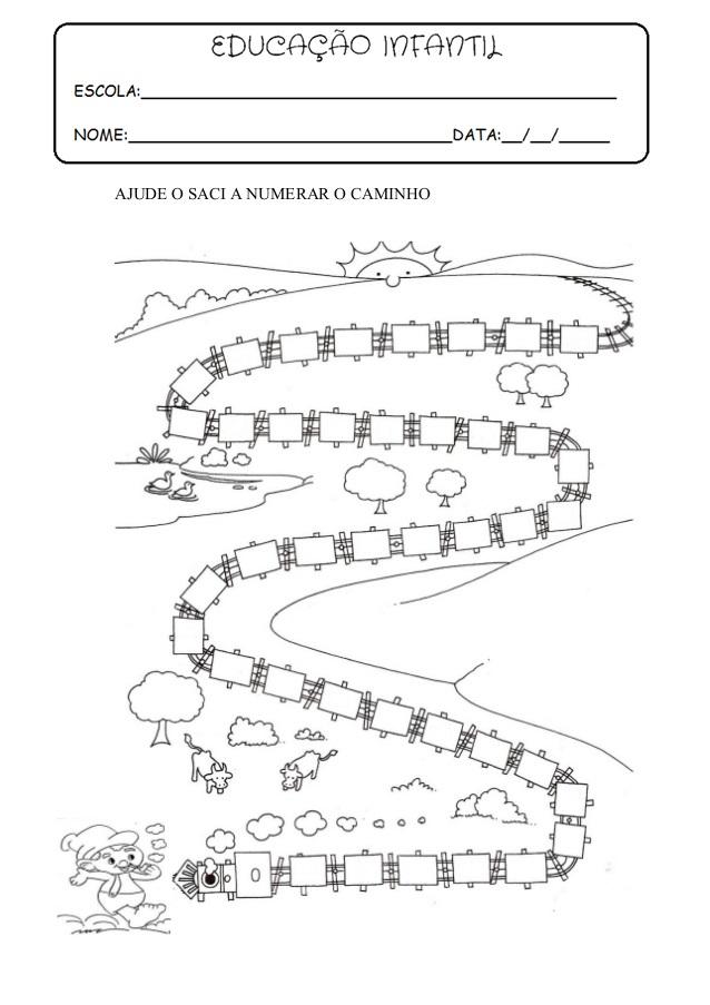 Extremamente EDUCAÇÃO INFANTIL: ATIVIDADE PARA IMPRIMIR SACI / FOLCLORE OC98