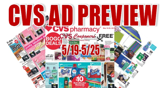 CVS Weekly Ad Preview - 5-19-5-25