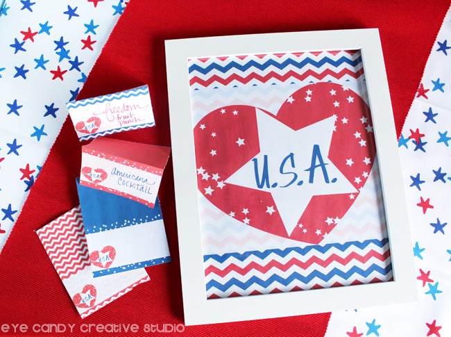 USA freebies, american freebies, free america art, free USA party decor