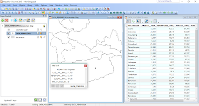 Hasil Geocoding Manual