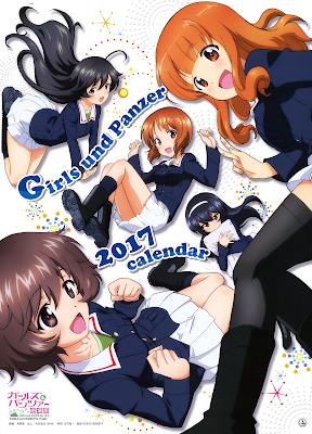 [Manga] ガールズ&パンツァー 2017カレンダー [Girls Panzer 2017 Calendar] Raw Download