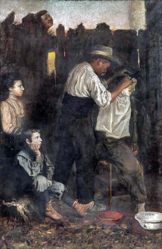 Maestros espa oles del retrato vicente eulalio araluce - Pintores en bilbao ...