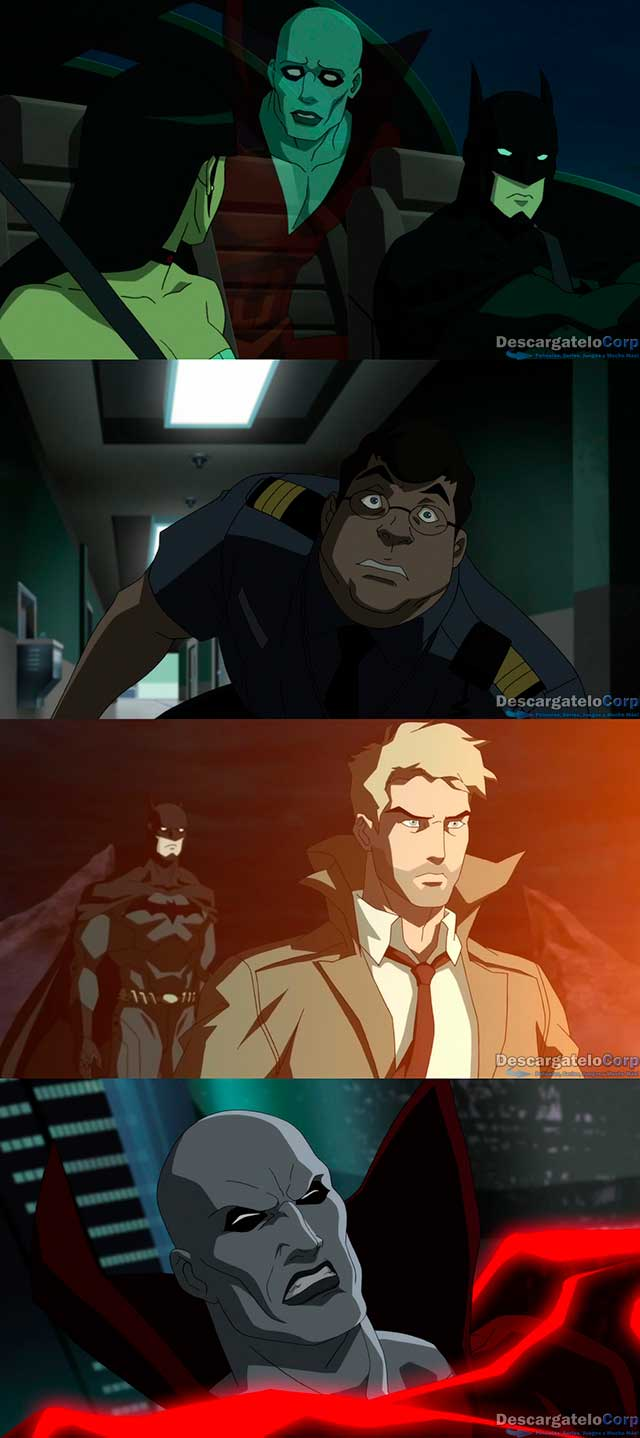 Justice League Dark (2017) HD 1080p Español Latino