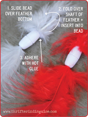 How to Attach Feathers to Jewelry