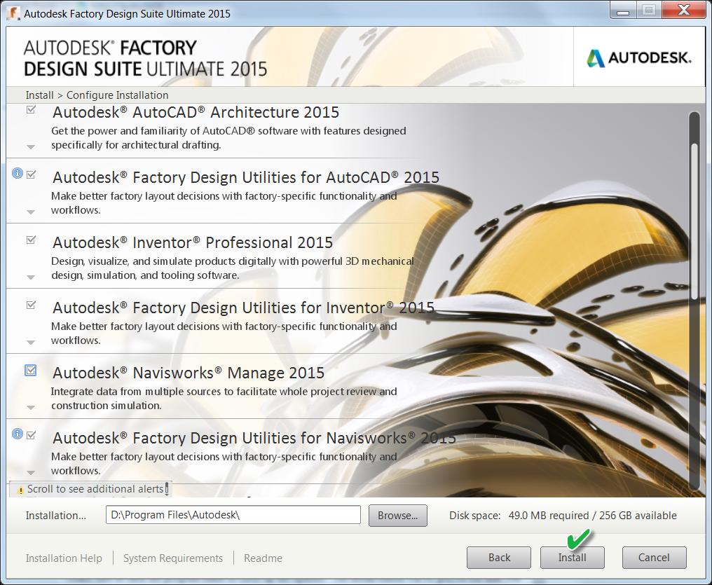 Onward and upward! Installing Your Autodesk 2015 Design