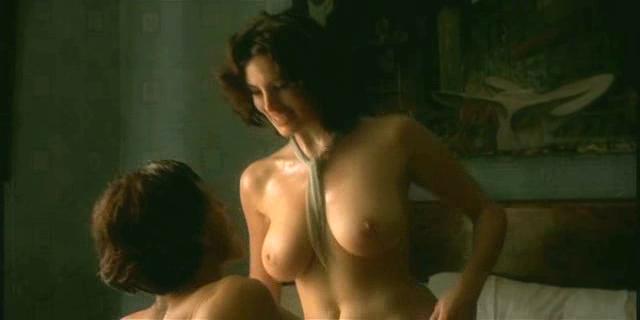 Busty italian actress