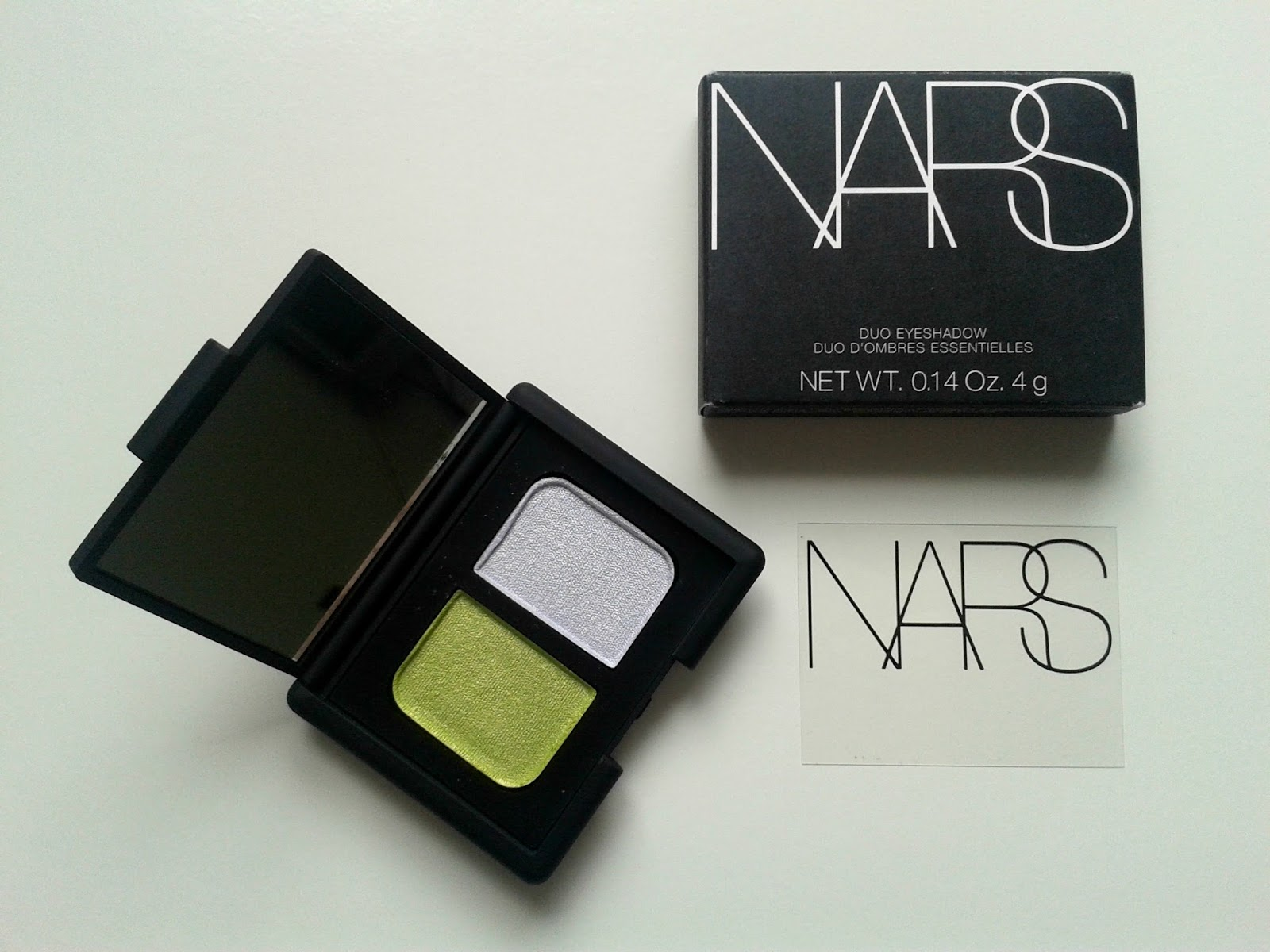 NARS Tropical Princess Eyeshadow Duo Beauty Review Packaging