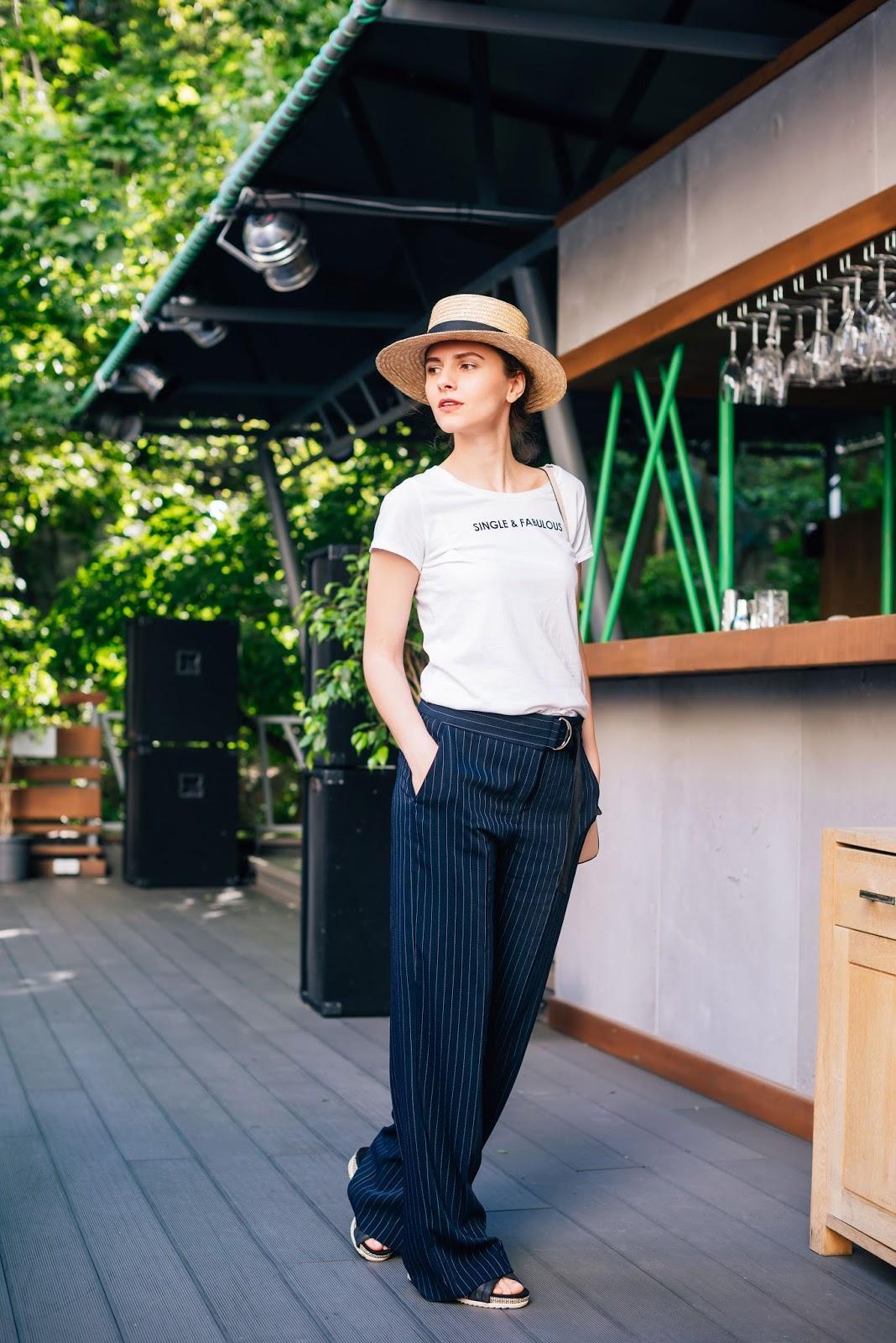 с чем носить классические брюки