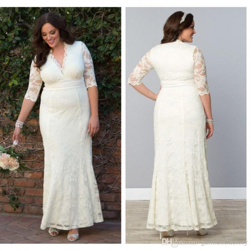 Mature Brides 2nd Wedding Dress Plus Size | Brides Bridal Ideas