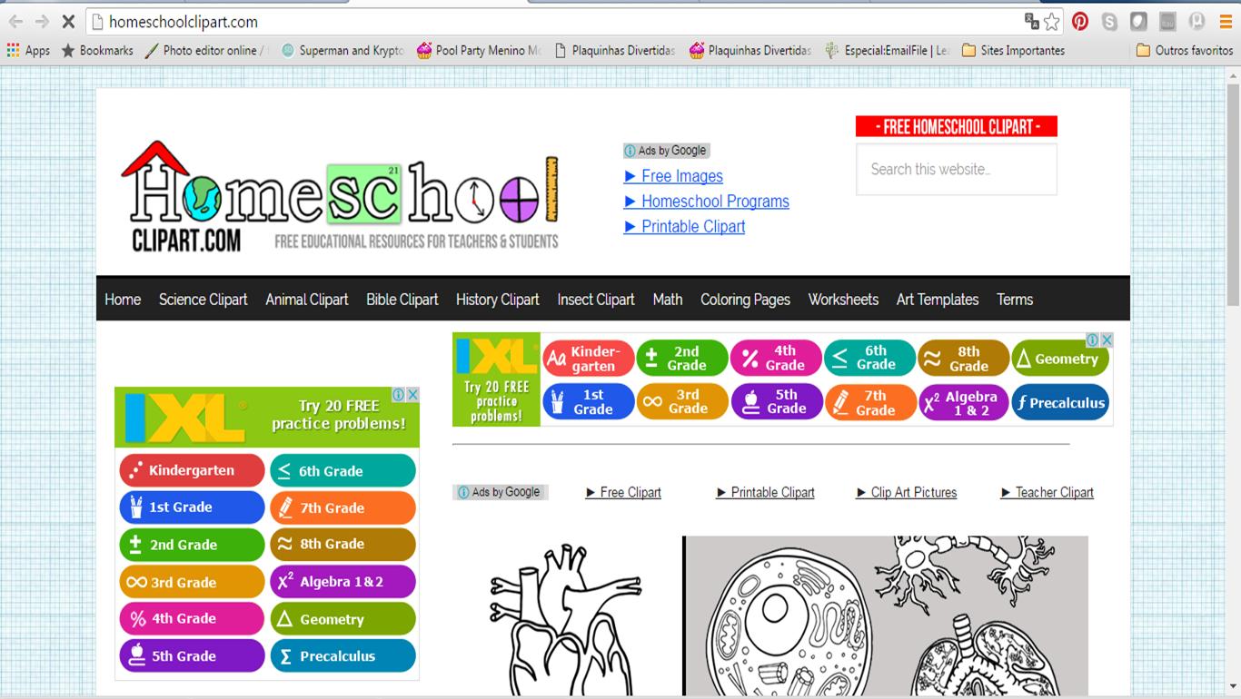 hight resolution of dica de site home school clipart com