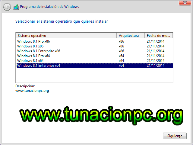 Windows 8.1 Todas las Versiones