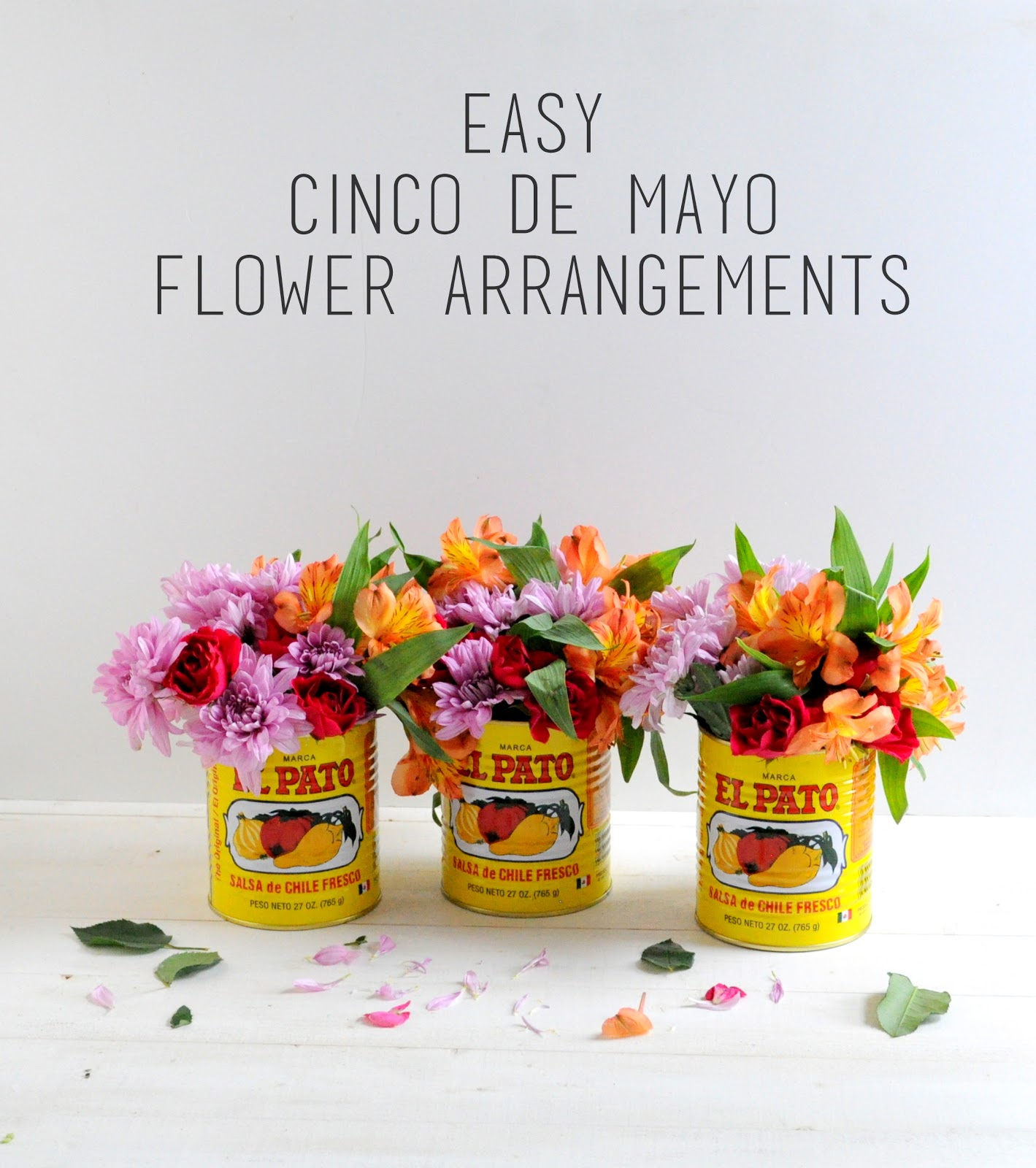 Easy Cinco De Mayo Flower Arrangements