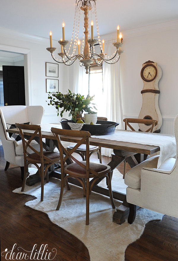 Dear Lillie Birch Lane Dining Room Refresh