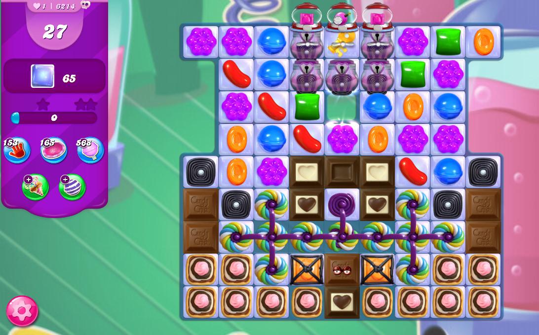 Candy Crush Saga level 6214
