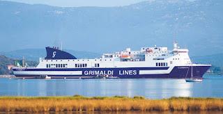 Grimaldi - Implementato il collegamento tra il porto di Brindisi e quelli greci di Igoumenitsa e Patrasso