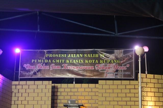 Prosesi Jalan Salib IV, Jumat Agung Ala Pemuda GMIT Klasis Kota Kupang