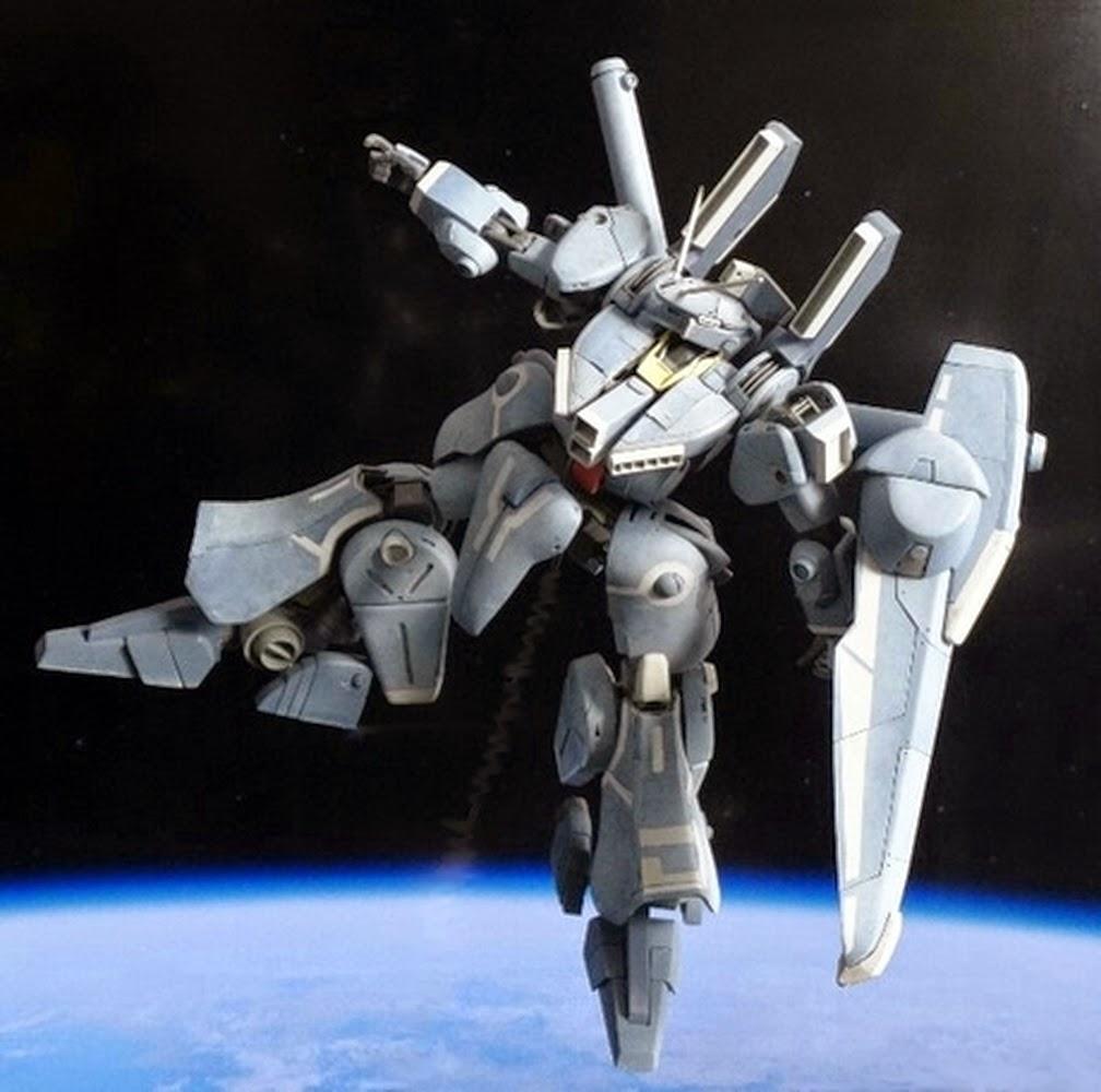 Custom Build: 1/144 ORX-013 Gundam Mk-V Full Scratch