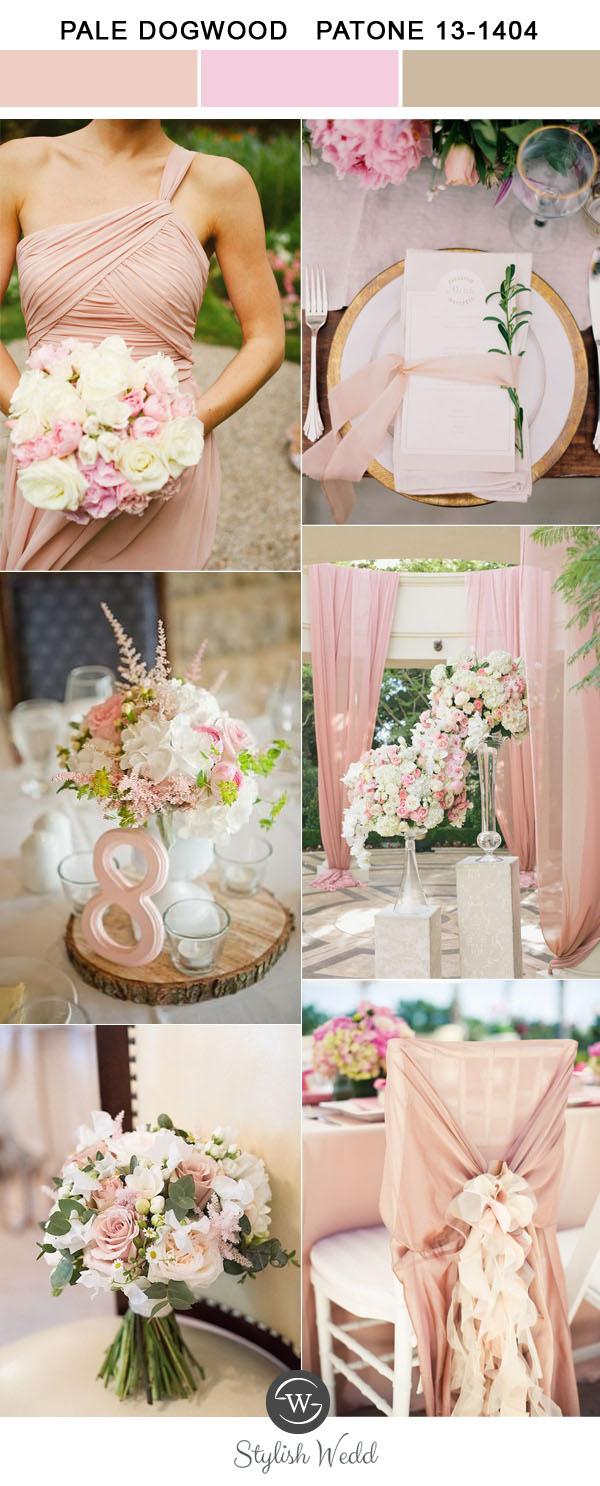 Kolor na Ślub i Wesele, Kolory ślubne 2017, Kolory ślubów i wesel 2017, Modne kolory 2017, Ślub i Wesele w Kolorze blado różowym, Trendy Ślubne 2017,