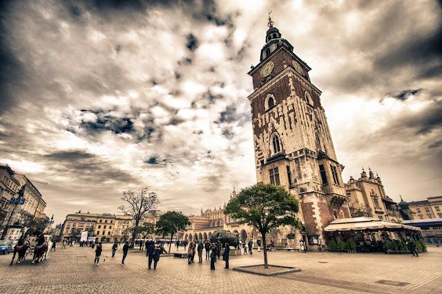 Torre del Municipio-Rynek Glowny-Cracovia