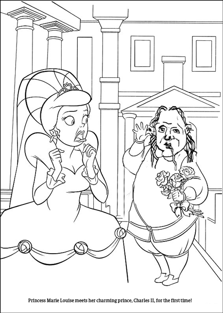 Free prince of spain coloring pages