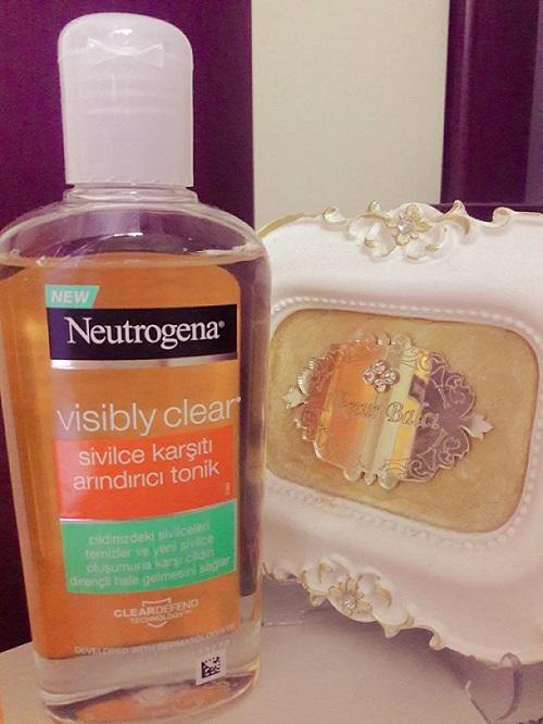 neutrogena arındırıcı tonik