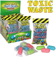 'toxic waste bubble gum' recalled for lead contamination