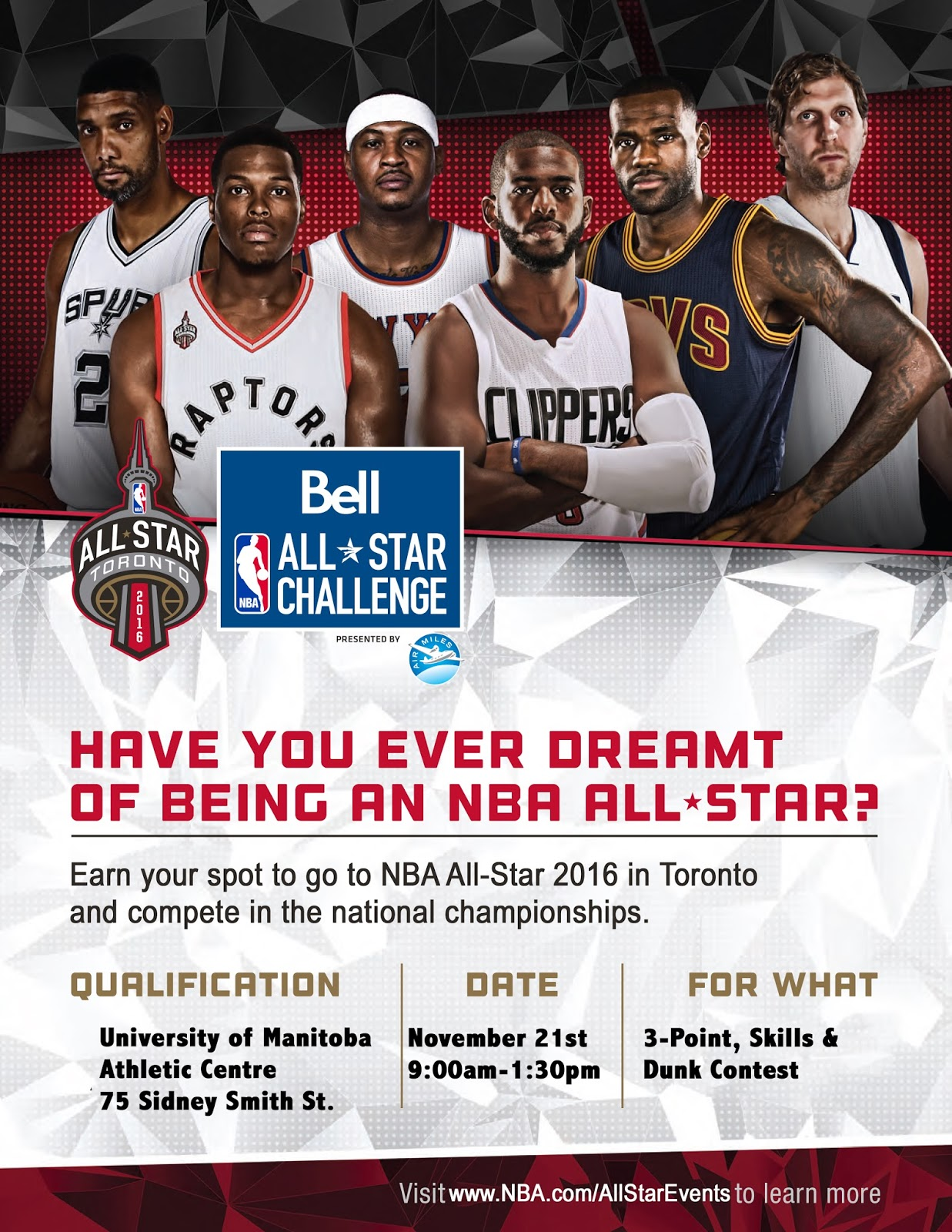 034936bc6 UPDATED  NBA All-Star Tour Stopping in Winnipeg November 19-22 ...