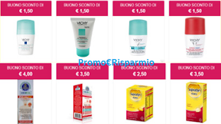 Logo Buoni sconto in Farmacia: richiedili fra i 41 coupon disponibili