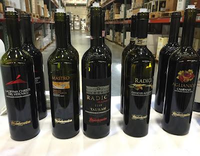 Wines of Campania with Mastroberardino Villa dei Misteri